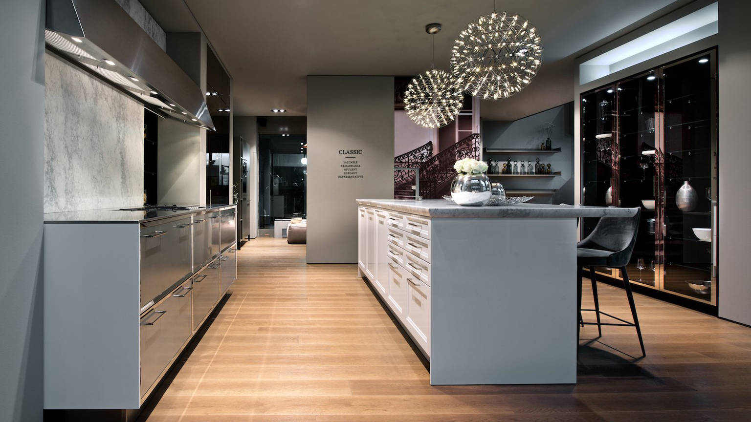 siematic monte santo in mailand. Black Bedroom Furniture Sets. Home Design Ideas