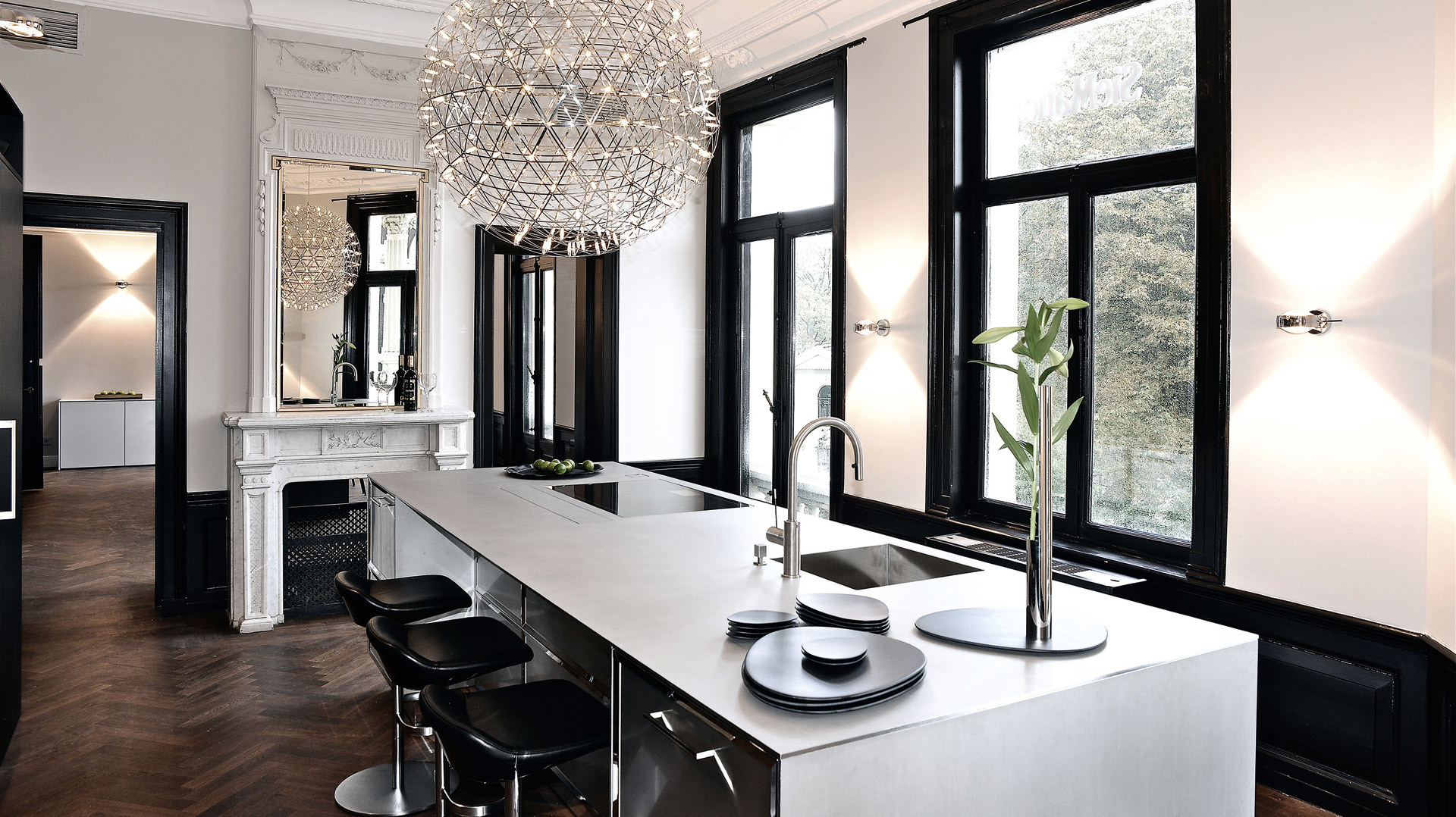 siematic flagship stores. Black Bedroom Furniture Sets. Home Design Ideas