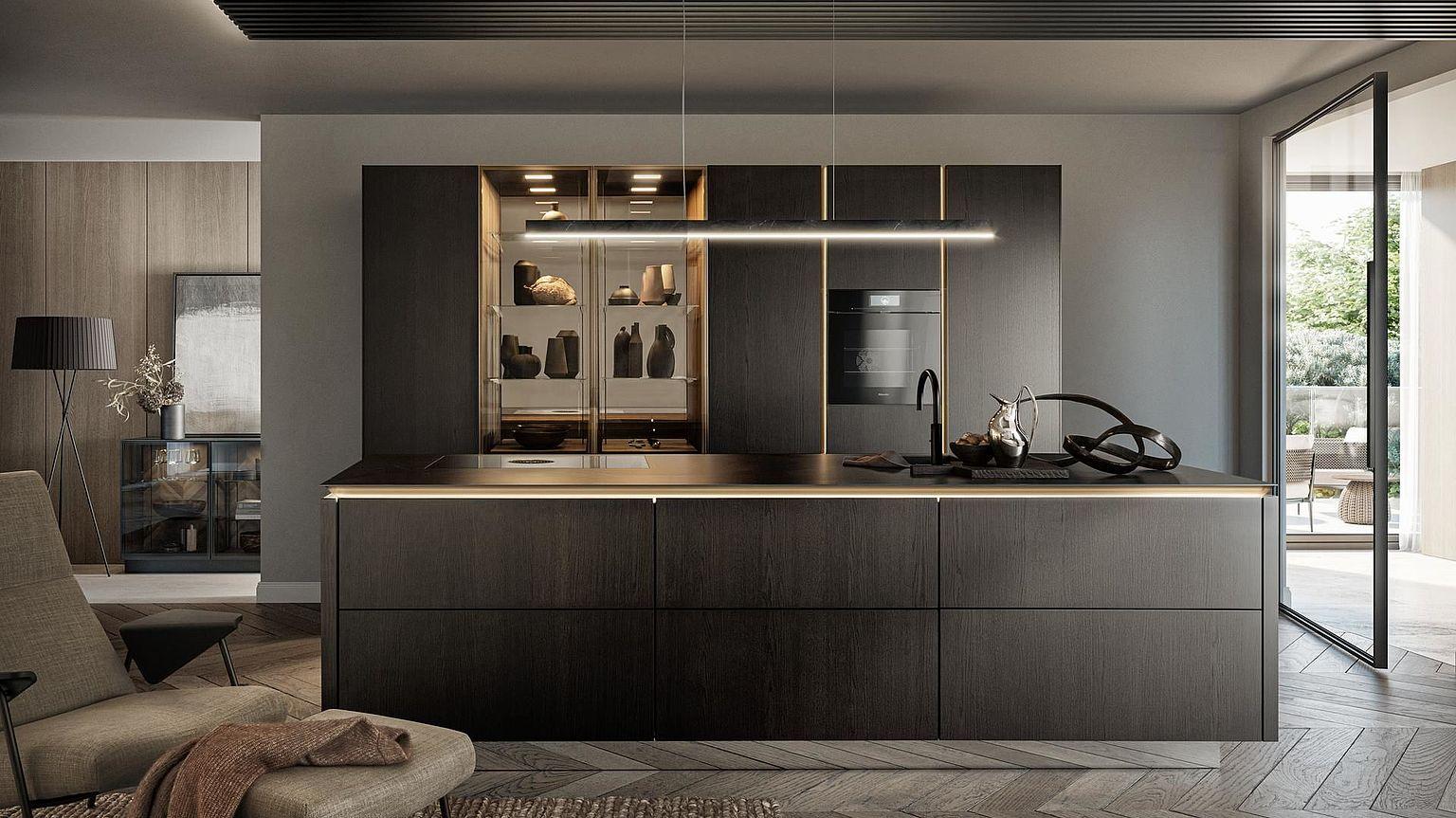 SieMatic Kitchen Interior Design of Timeless Elegance |