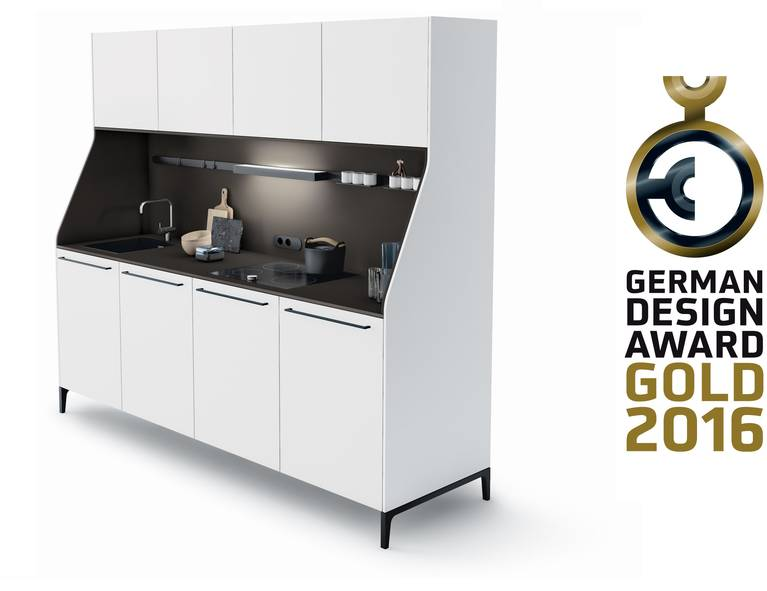 "SieMatic 29 werd in 2016 door de ""Rat für Formgebung"" met de ""German Design Award in GOLD"" onderscheiden."