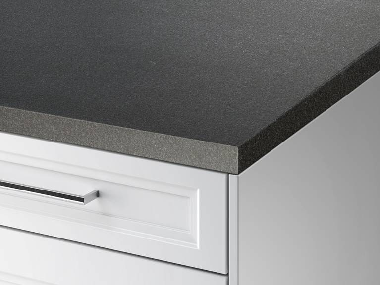 SieMatic StoneDesign kitchen countertop with mitered edge