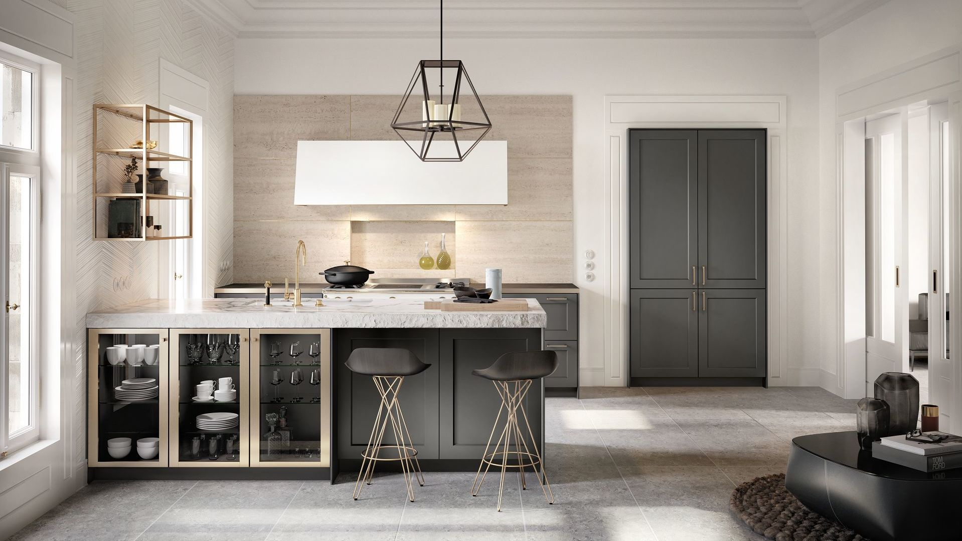 SieMatic Classic: the traditional kitchen in a new compos ...