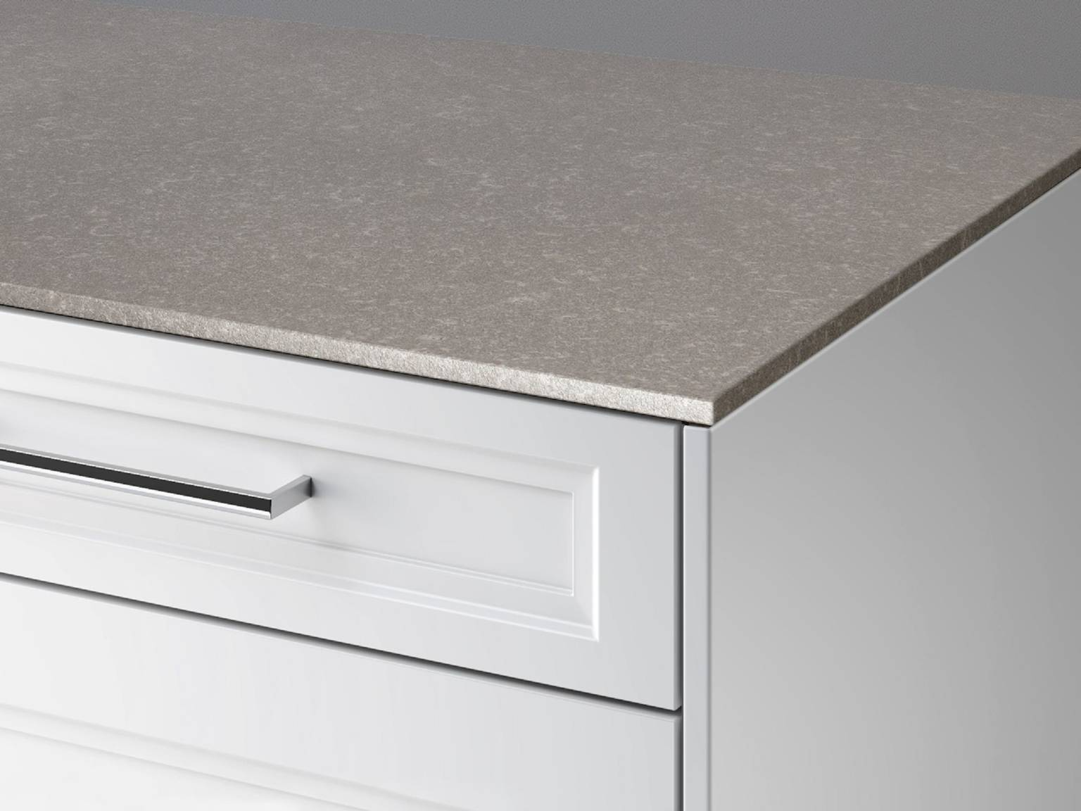 SieMatic StoneDesign kitchen countertop in 1 cm thickness look