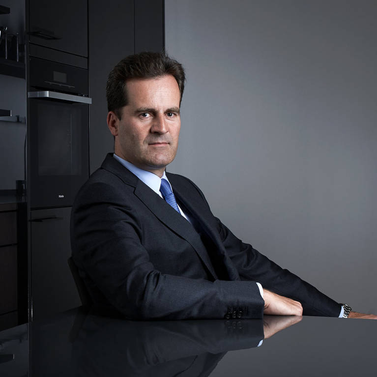 SieMatic family: Ulrich W. Siekmann has been managing the expanding international family business since 1994.
