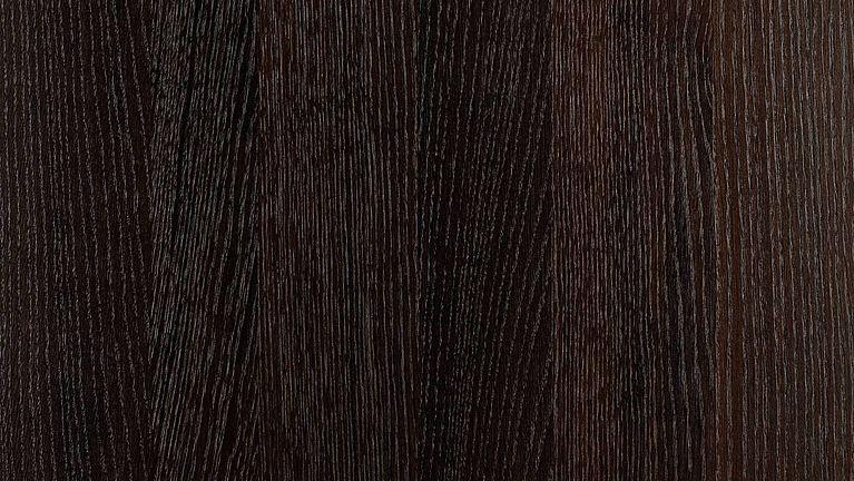 Houten oppervlakken in de materiaalkleur gerookt eiken donker voor SieMatic keukenfronten.