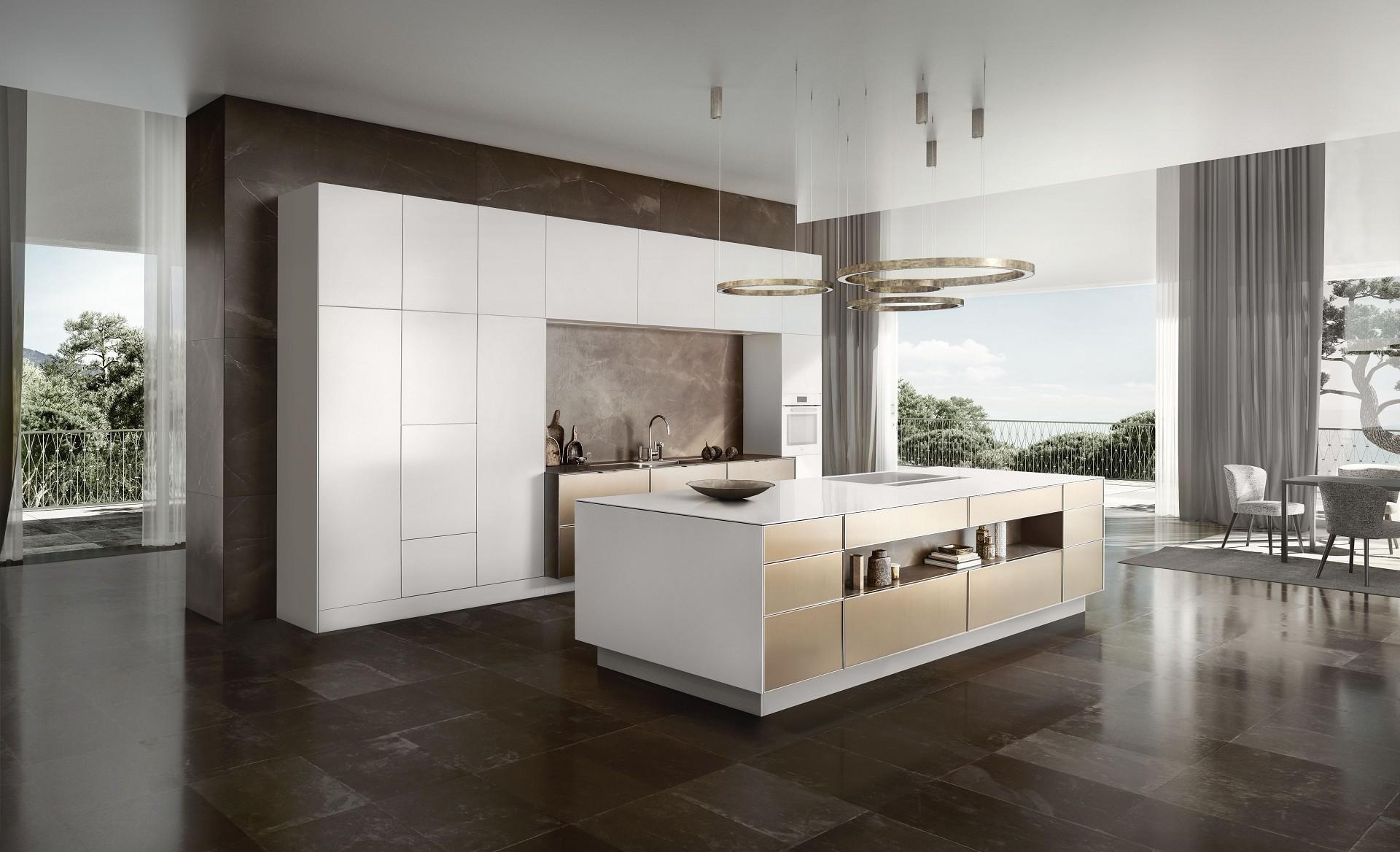 Open keuken de kunst van het leven siematic