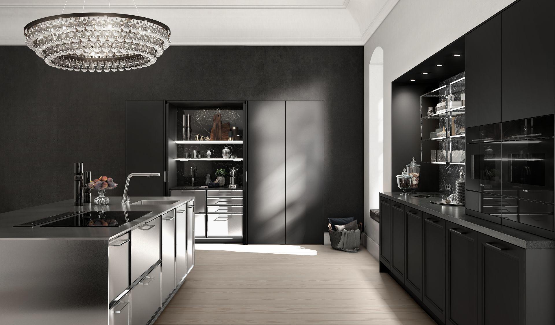 Luxe keuken de prestige van het buitengewone design