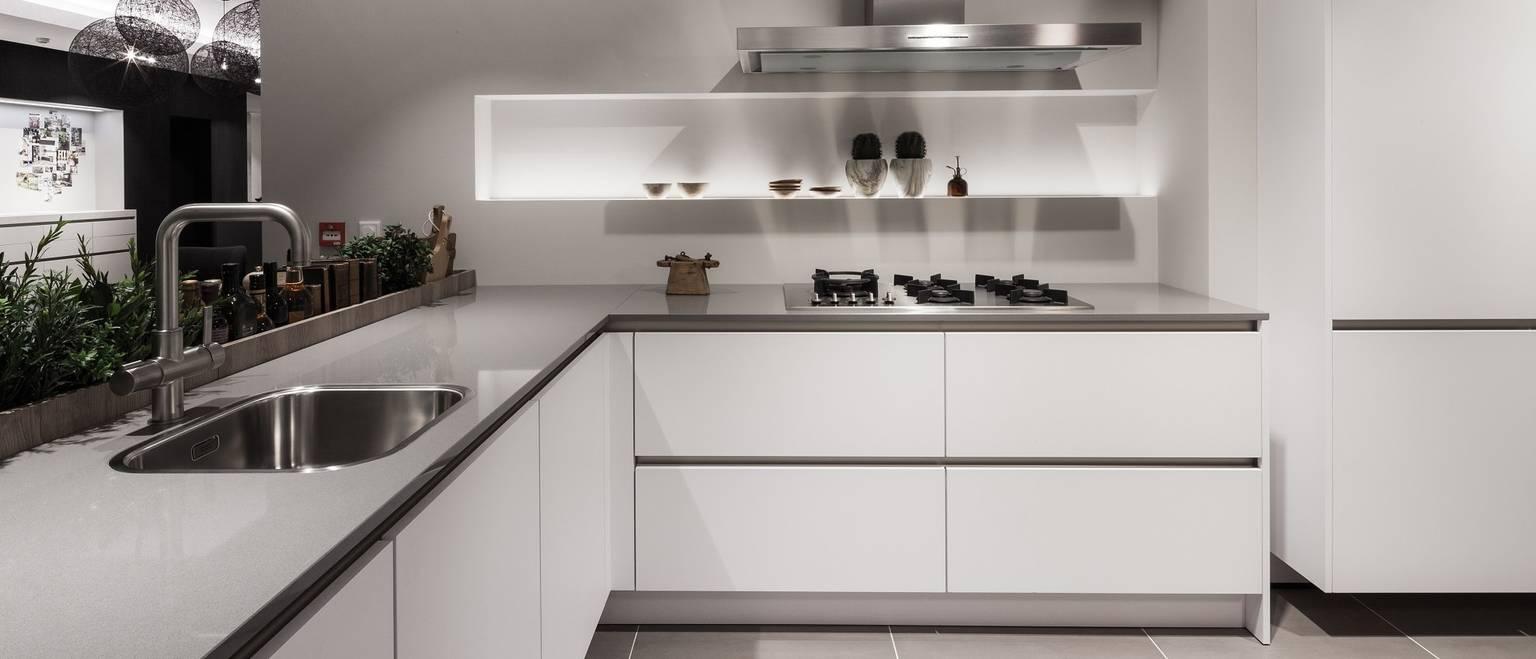 [Translate to Español:] SieMatic Küchenstudios: Machen Sie sich ein Bild von dem, was als zeitlos elegantes Design für die Küche gilt.