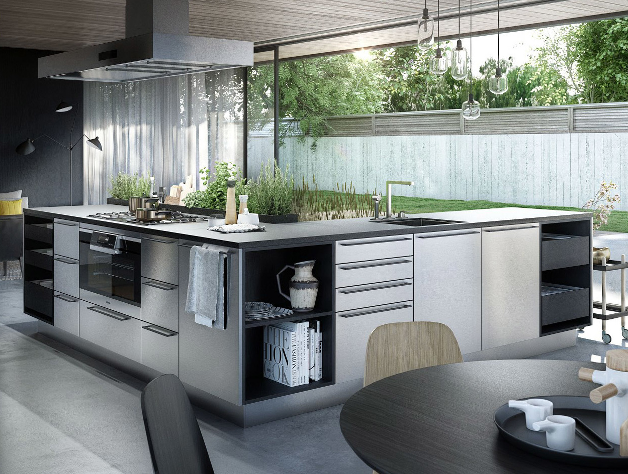 k chen arbeitsplatten von siematic das mehr der. Black Bedroom Furniture Sets. Home Design Ideas