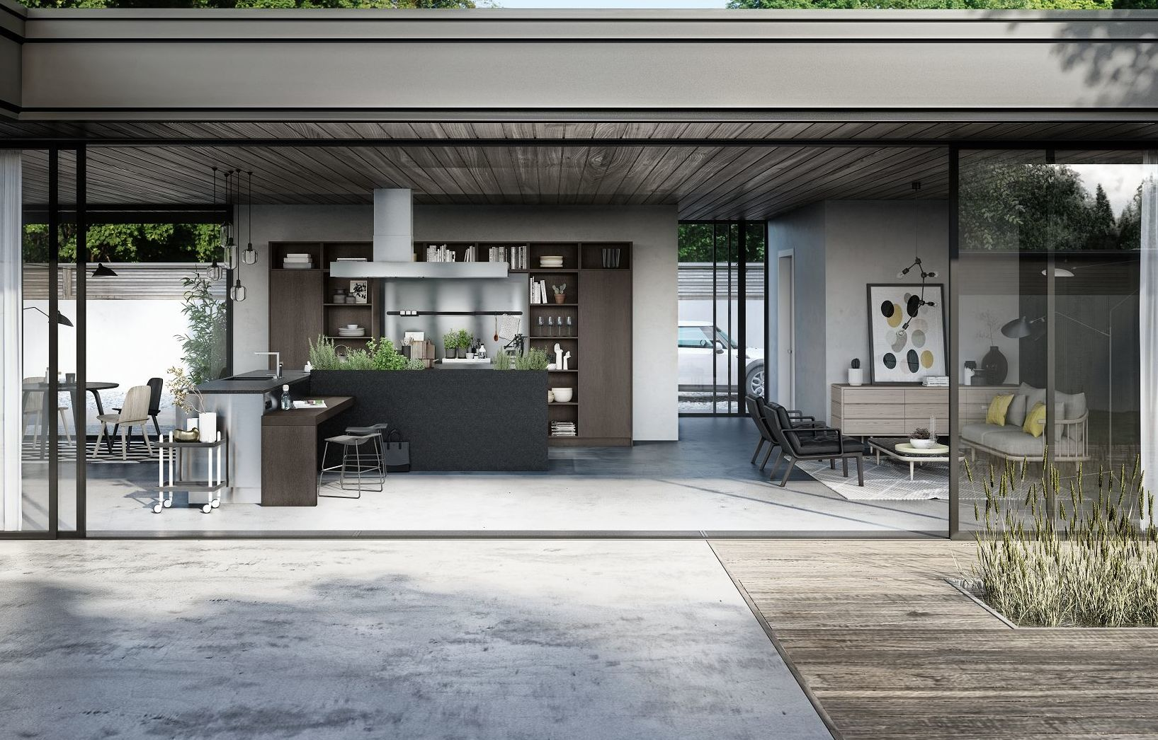Siematic Urban Kitchen Design Without Dictates Or Limits