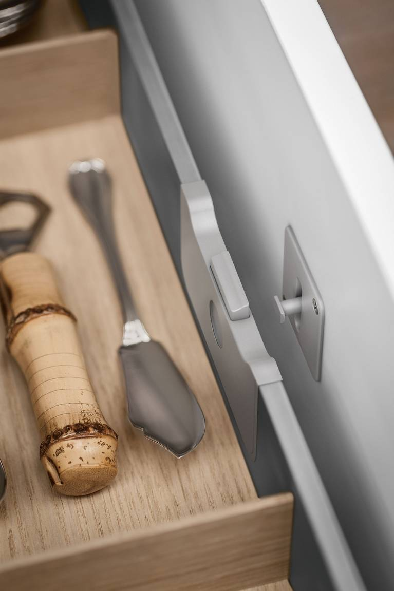 kitchen drawers.  An Interior Drawer Elegantly Doubles Storage Space In SieMatic Kitchen Drawers And Pull Outs Kitchen Interior Accessories By Individual Innovative