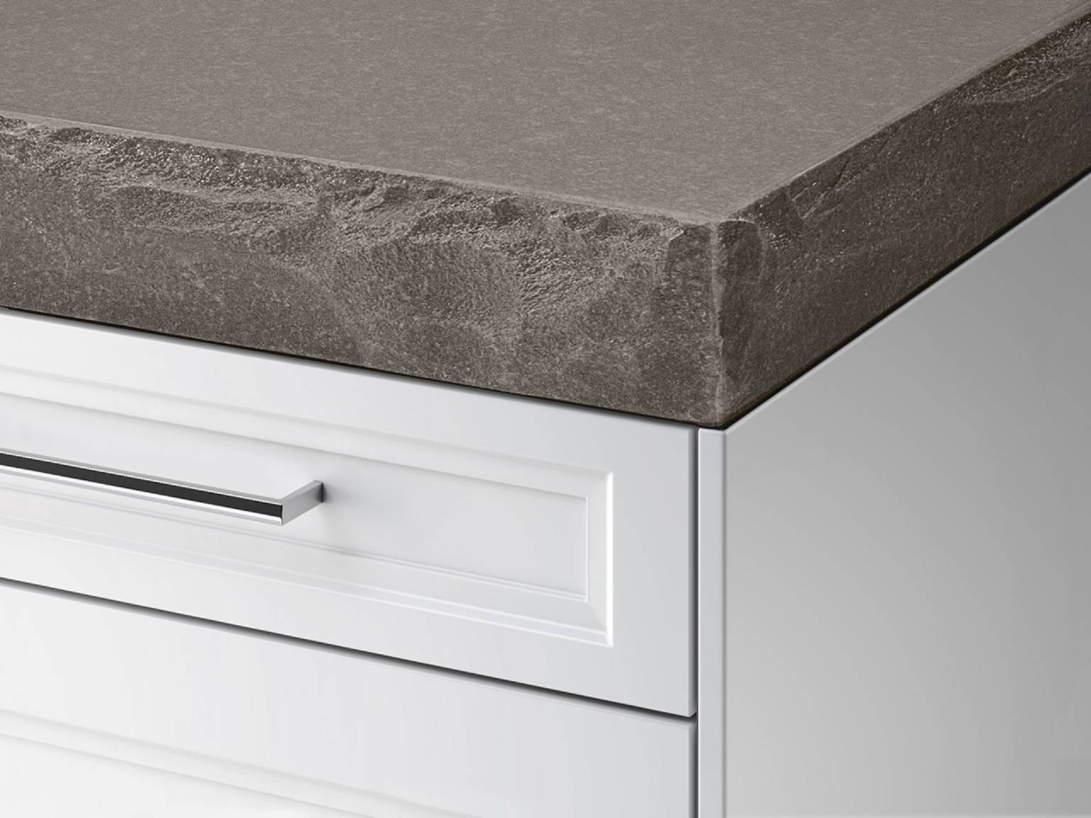 SieMatic StoneDesign kitchen countertop with embossed edge