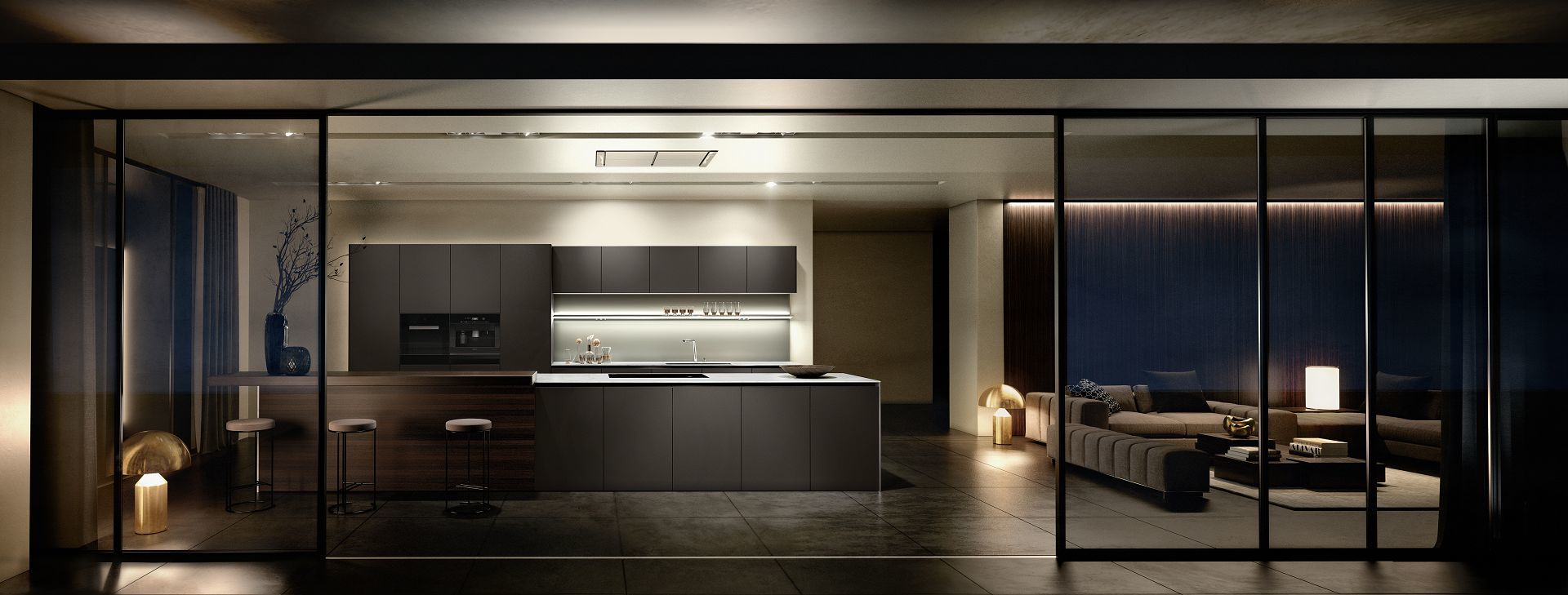 design de cuisine par siematic l gance intemporelle made in germany. Black Bedroom Furniture Sets. Home Design Ideas