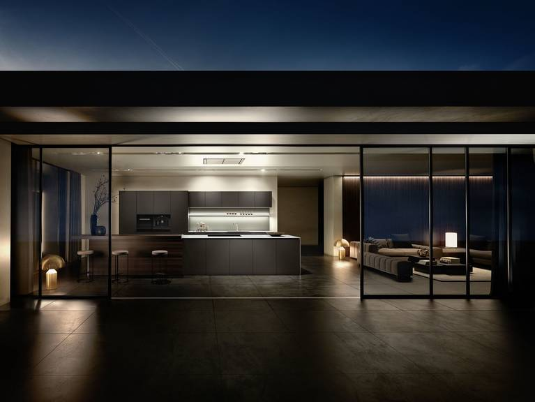 First-class SieMatic kitchen design for shapes, proportions and materials of timeless quality