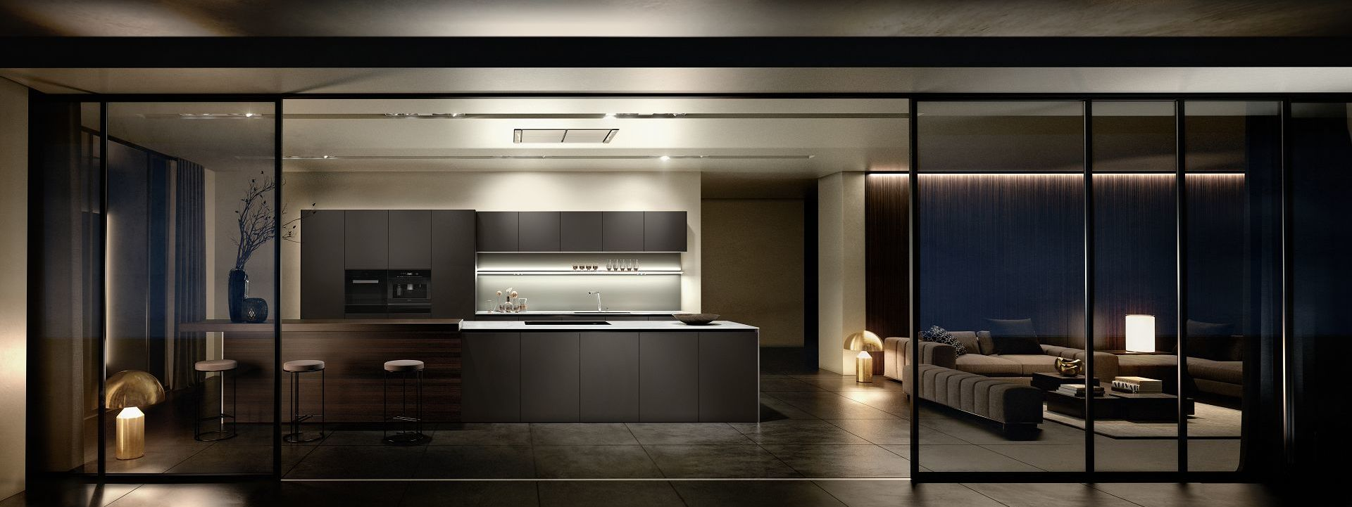 Design di cucine SieMatic di prim'ordine: forme, proporzioni e materiali dalla durata senza tempo.