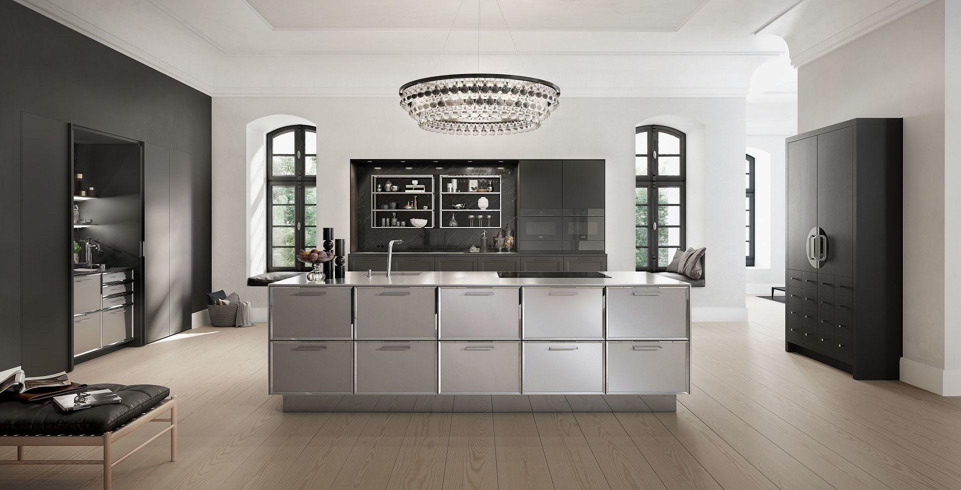 siematic classic klassisches k chendesign neu komponiert. Black Bedroom Furniture Sets. Home Design Ideas