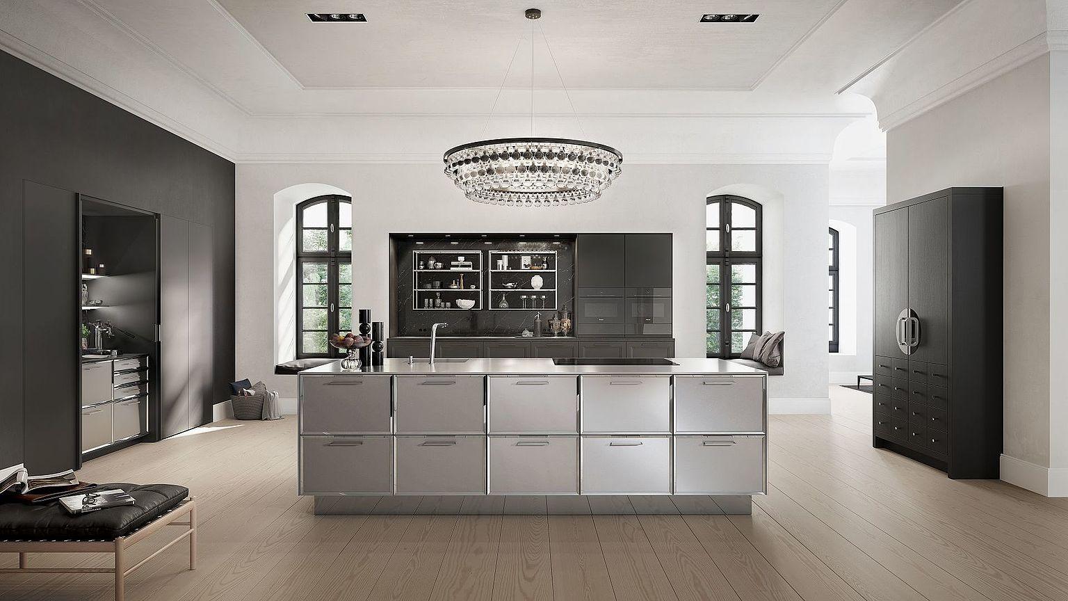 SieMatic Kitchen Interior Design of Timeless Elegance