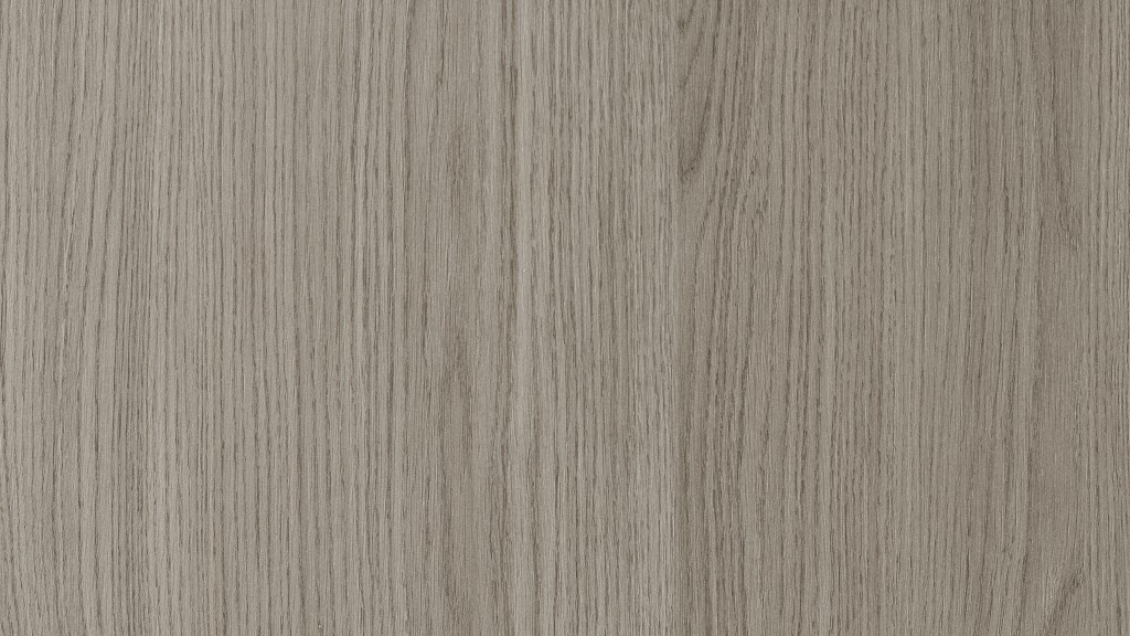 "Wood grain laminate in ""java oak"" from SieMatic's selection of kitchen cabinet door fronts"
