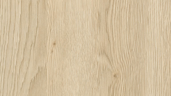 "Wood grain laminate in ""sienna oak"" from SieMatic's selection of kitchen cabinet door fronts"