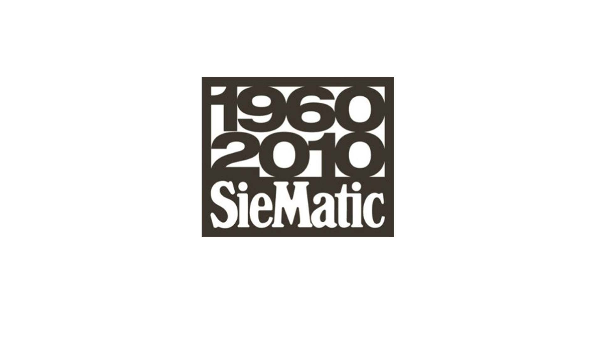 SieMatic Historie 2010: 50 Jahre SieMatic, 50 Jahre grifflose Küchen.
