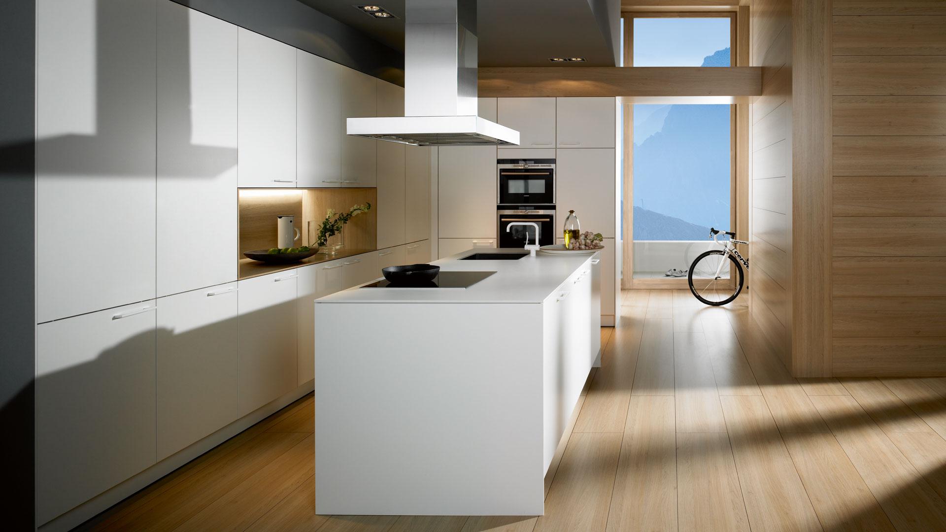 SieMatic Historie 2009: Das SieMatic CompactDesign für ein zeitgemäßes, individuelles Küchen-Design.