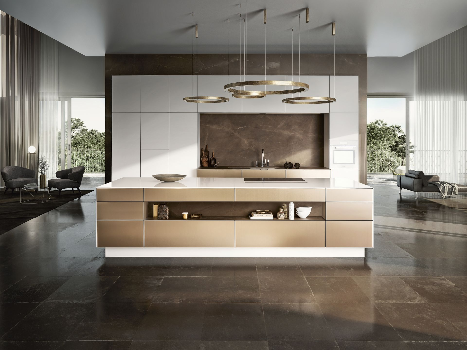 Kücheninsel siematic minimalistisches küchendesign maximale perfektion