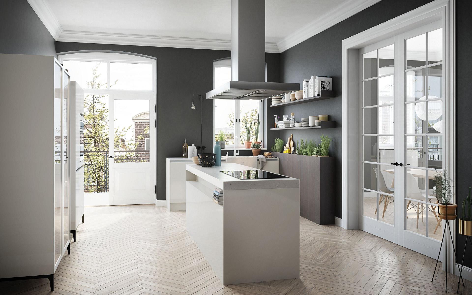 Regreso A Las Ra Ces De La Cocina En Un Ambiente Urbano # Keuken Muebles De Cocina