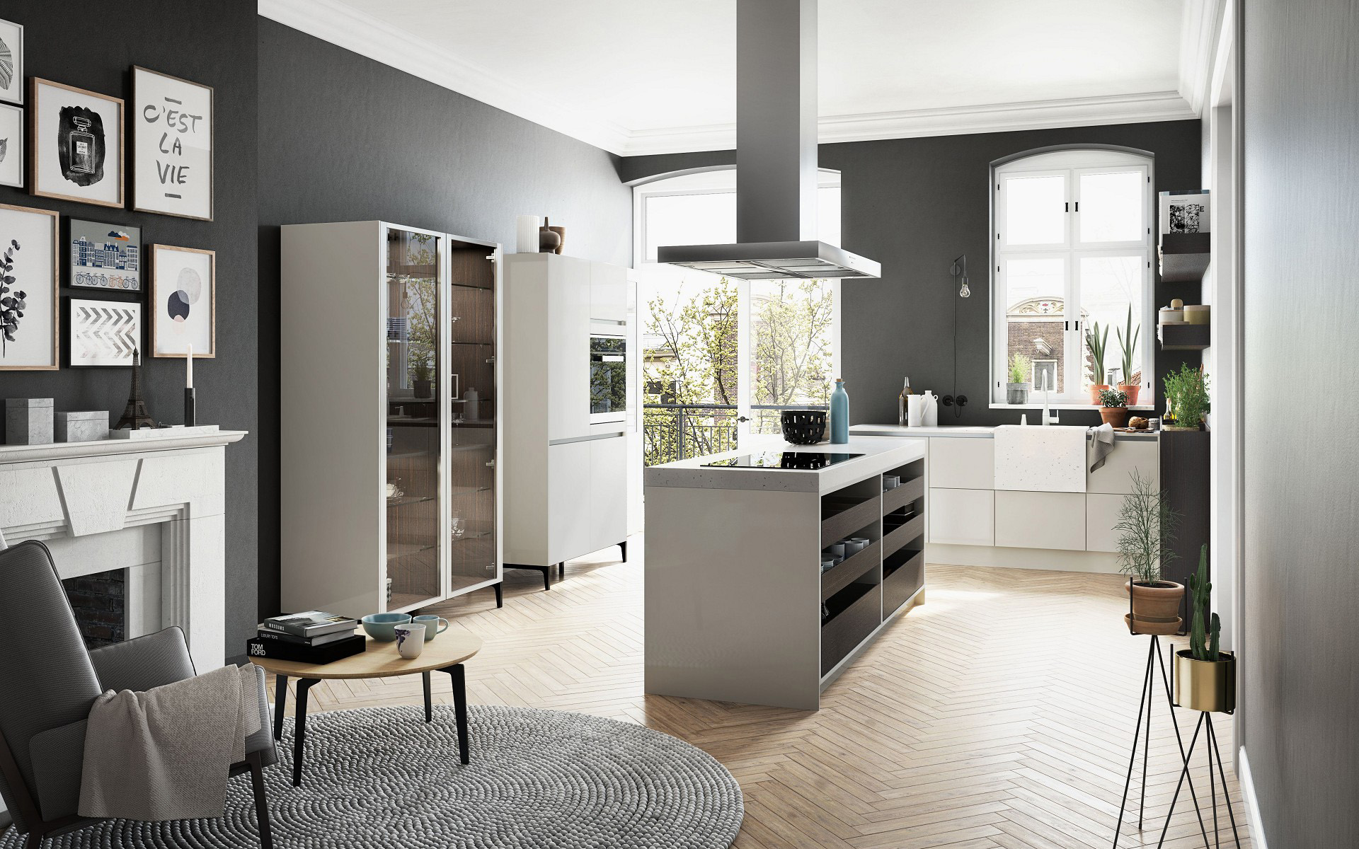 siematic urban design de cuisine sans diktat conception sans limites. Black Bedroom Furniture Sets. Home Design Ideas