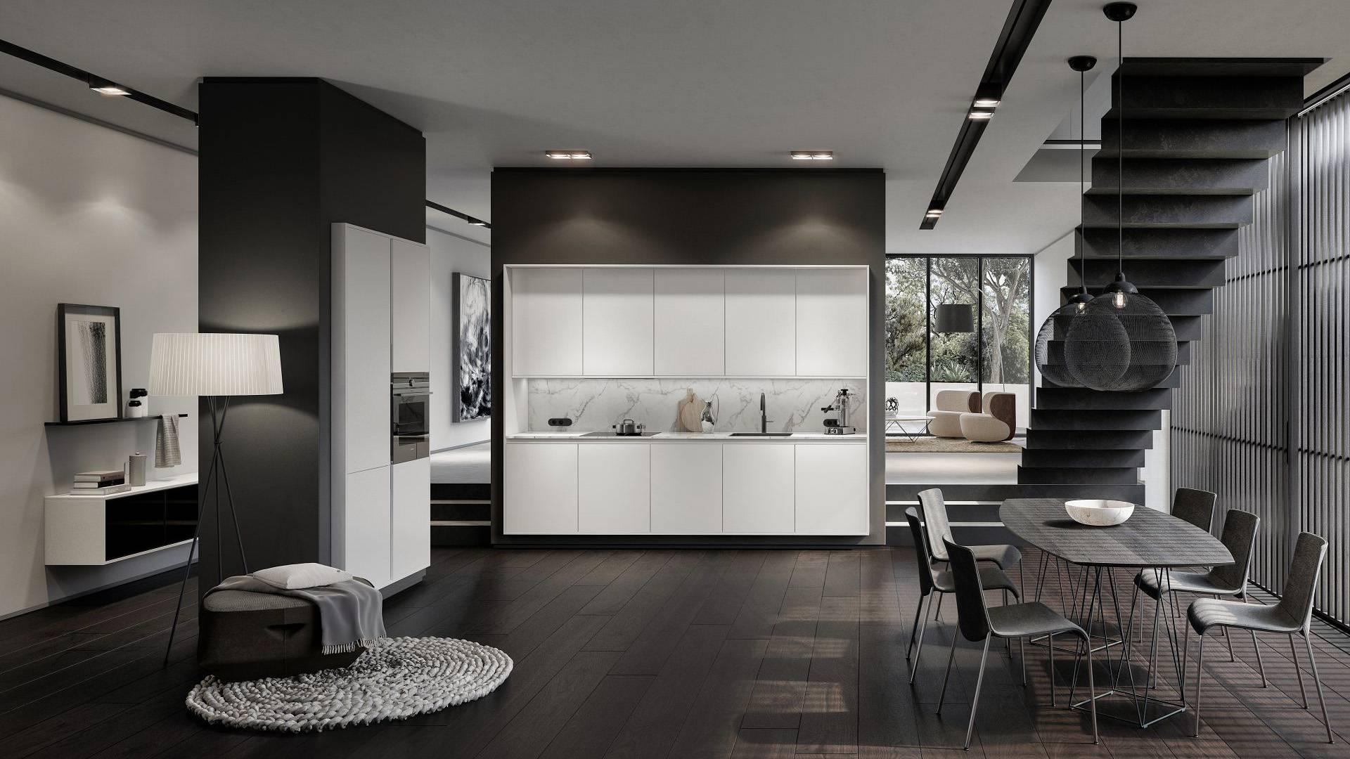 Siematic k chenm bel und interior design von zeitloser el for 3d ruimte ontwerpen