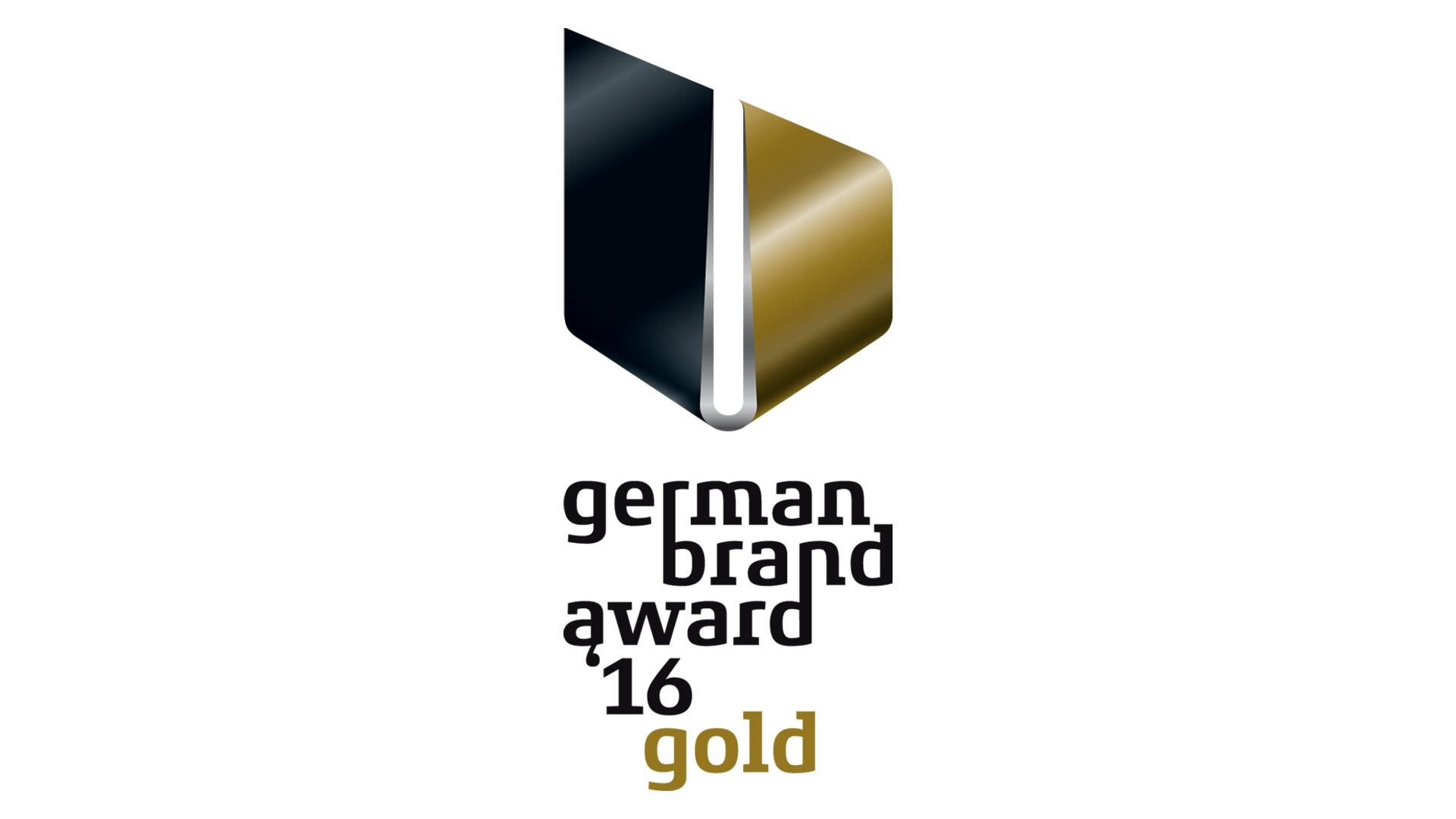 """SieMatic Historie 2016: SieMatic erhält vom """"Rat für Formgebung"""" den """"German Brand Award in GOLD""""."""