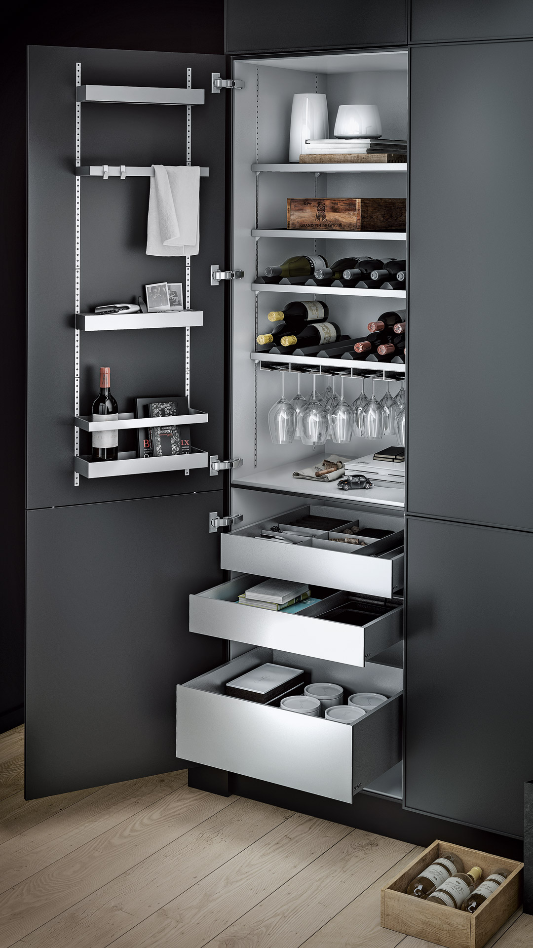multimatic interior fitting system. Black Bedroom Furniture Sets. Home Design Ideas